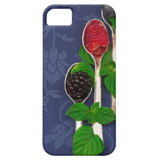 Capa Barely There Para iPhone 5 fundo da fruta de baga