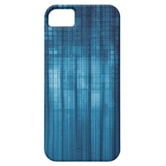 Capa Barely There Para iPhone 5 Fundo do mosaico da tecnologia como uma arte do