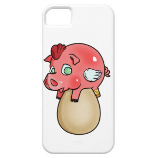 Capa Barely There Para iPhone 5 Galinha, porco, Cheeken-Peeg!