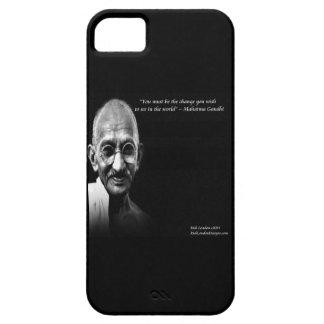 Capa Barely There Para iPhone 5 Gandhi seja o exemplo do iPhone 5 das citações da