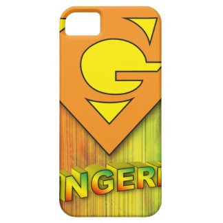 Capa Barely There Para iPhone 5 Gingermon