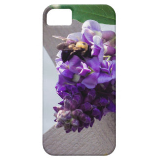 Capa Barely There Para iPhone 5 Glicínias & abelha