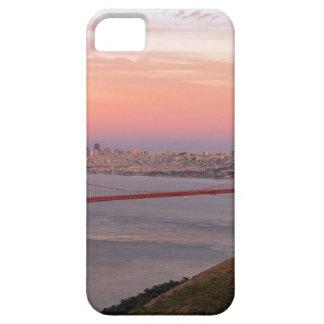 Capa Barely There Para iPhone 5 Golden gate bridge San Francisco no nascer do sol