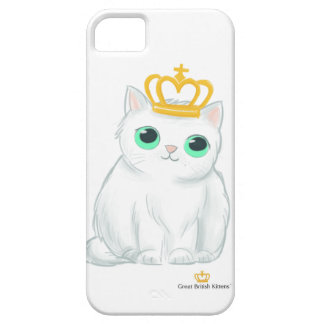 Capa Barely There Para iPhone 5 Grandes gatinhos britânicos - iPhone do gato/caso