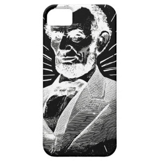 Capa Barely There Para iPhone 5 grunge Abraham Lincoln