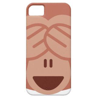 Capa Barely There Para iPhone 5 Hide and seek Emoji Monkey