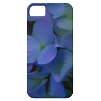Capa Barely There Para iPhone 5 Hydrangeas roxos violetas