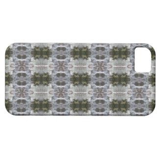 Capa Barely There Para iPhone 5 iCases com design do abstrato do fosco