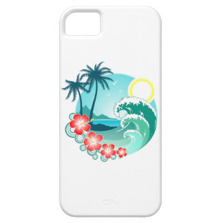Capa Barely There Para iPhone 5 Ilha havaiana 2