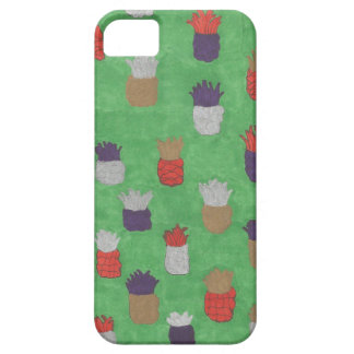 Capa Barely There Para iPhone 5 Impressão Funky do abacaxi