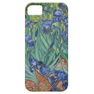 Capa Barely There Para iPhone 5 Íris de Vincent van Gogh que pintam o trabalho de