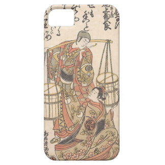 Capa Barely There Para iPhone 5 Japonês Woodprint