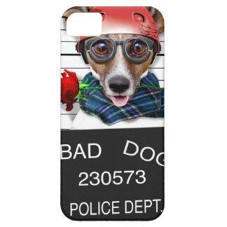 Capa Barely There Para iPhone 5 Jaque engraçado russell, cão do Mugshot