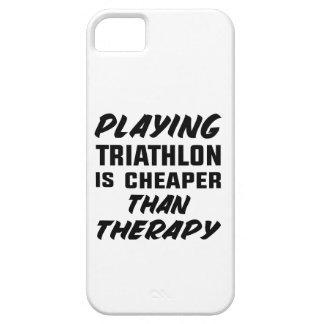 Capa Barely There Para iPhone 5 Jogar o Triathlon é mais barato do que a terapia