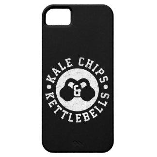 Capa Barely There Para iPhone 5 Kettlebells e microplaquetas da couve - exercício