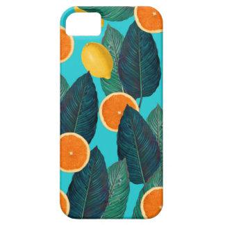 Capa Barely There Para iPhone 5 limões e cerceta das laranjas