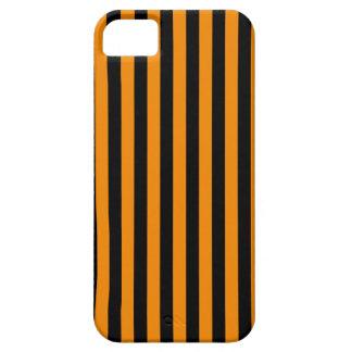 Capa Barely There Para iPhone 5 Listras finas - preto e tangerina