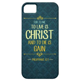 Capa Barely There Para iPhone 5 Live é o cristo - 1:21 dos Philippians
