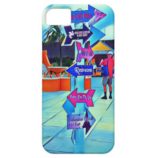 Capa Barely There Para iPhone 5 Locais de repouso esse pop art de Digitas da