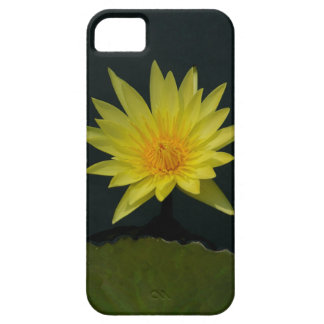 Capa Barely There Para iPhone 5 Lotus amarelo Waterlily