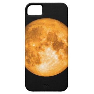Capa Barely There Para iPhone 5 Lua cheia alaranjada