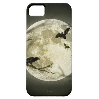 Capa Barely There Para iPhone 5 Lua do Dia das Bruxas - ilustração da Lua cheia