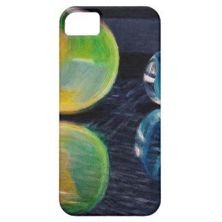 Capa Barely There Para iPhone 5 Luz de mármore