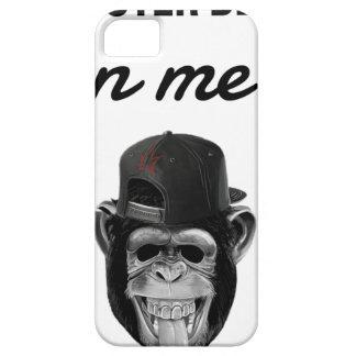 Capa Barely There Para iPhone 5 macaco do defeito