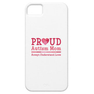 Capa Barely There Para iPhone 5 Mamã orgulhosa do autismo