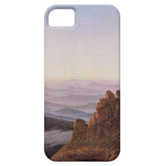 Capa Barely There Para iPhone 5 Manhã em Riesengebirge - Caspar David Friedrich