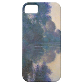 Capa Barely There Para iPhone 5 Manhã no Seine perto de Giverny - Claude Monet.j