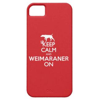 CAPA BARELY THERE PARA iPhone 5 MANTENHA WEIMARANER CALMO