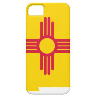 Capa Barely There Para iPhone 5 Mapa da bandeira de New mexico