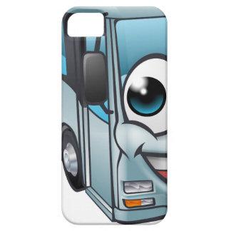 Capa Barely There Para iPhone 5 Mascote do personagem de desenho animado do ônibus