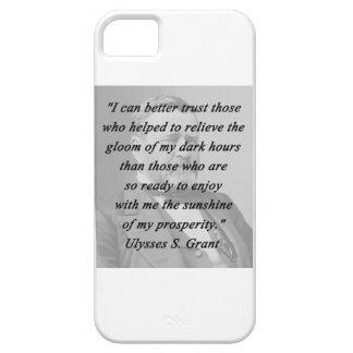 Capa Barely There Para iPhone 5 Melhor confiança - Ulysses S Grant