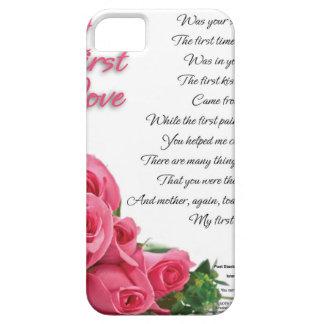 Capa Barely There Para iPhone 5 Meu primeiro poema do amor