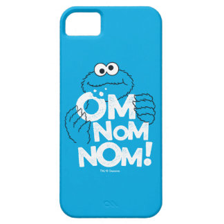 Capa Barely There Para iPhone 5 Monstro do biscoito | OM Nom Nom!