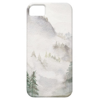 Capa Barely There Para iPhone 5 Montanhas enevoadas