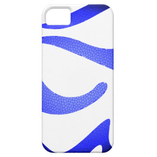 Capa Barely There Para iPhone 5 Mosaico azul, SE do iPhone + iPhone 5/5S