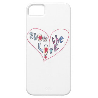 Capa Barely There Para iPhone 5 Mostre o amor