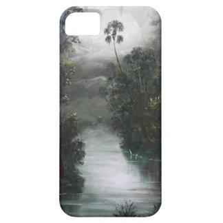 Capa Barely There Para iPhone 5 Musgo enevoado do rio de Florida