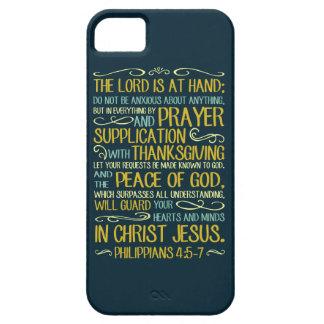 Capa Barely There Para iPhone 5 Não seja - 4:5 dos Philippians - 7 ansiosos