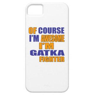 Capa Barely There Para iPhone 5 Naturalmente eu sou lutador de Gatka