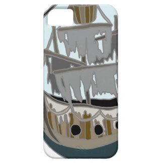 Capa Barely There Para iPhone 5 Navio do fantasma