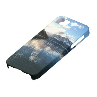 Capa Barely There Para iPhone 5 Neve do inverno de Lake Tahoe