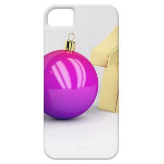 Capa Barely There Para iPhone 5 Número 2018 com bola do Natal