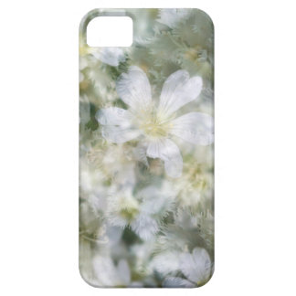 Capa Barely There Para iPhone 5 Nuvem das flores brancas