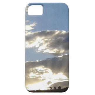 Capa Barely There Para iPhone 5 Nuvens e Sun