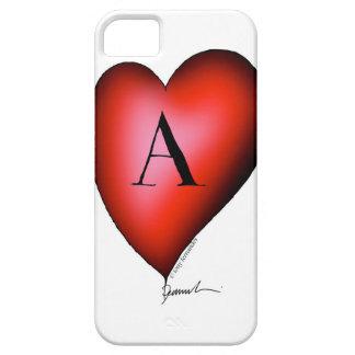 Capa Barely There Para iPhone 5 O ás de corações por Tony Fernandes