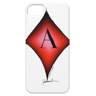 Capa Barely There Para iPhone 5 O ás de diamantes por Tony Fernandes